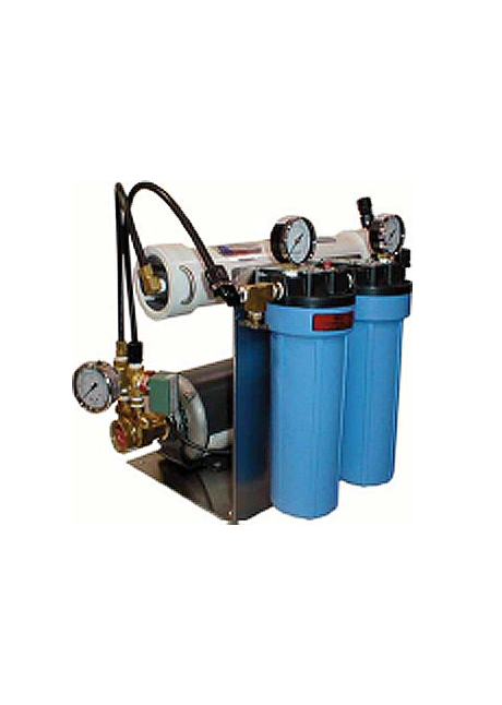 Image showing a residental water filtration system