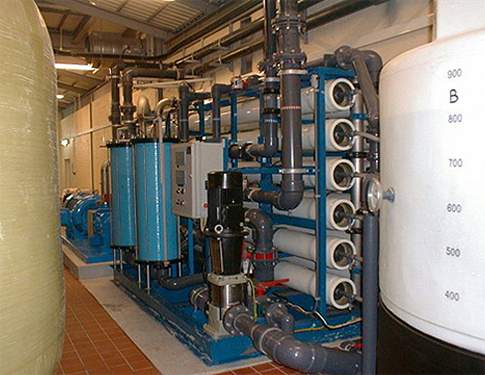 Company Water Projects Portfolio - Water Equipment