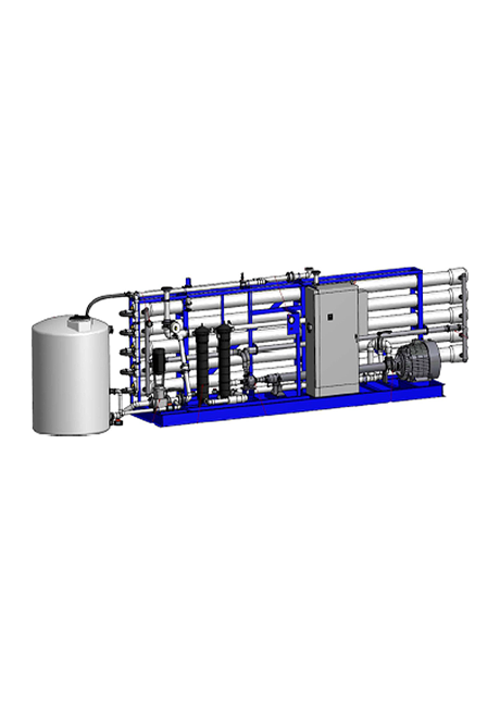 Water Equipment Technologies Seawater Desalination (Energy Recovery Turbine) product image