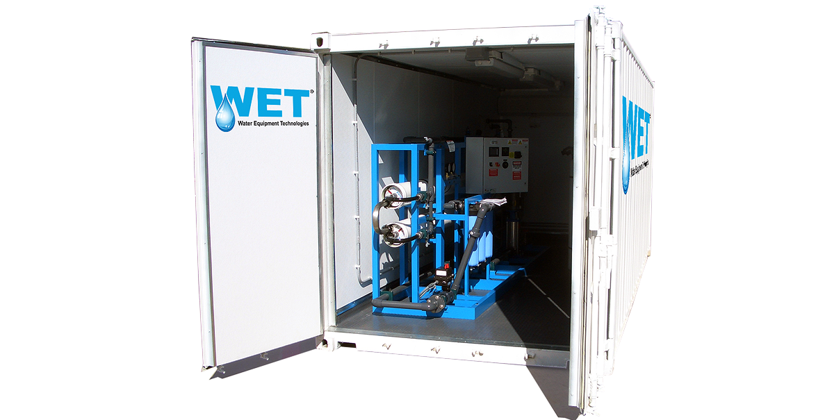 WET Reverse Osmosis Container